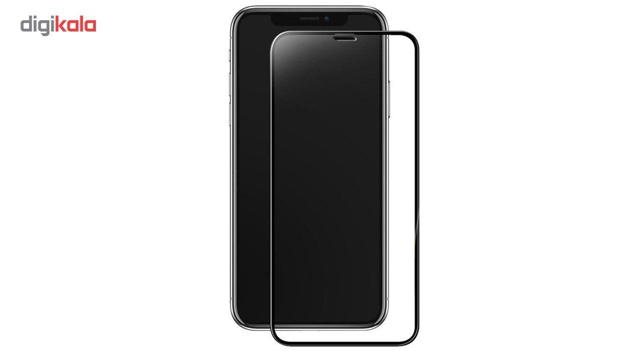 محافظ صفحه نمایش و لنز تمام چسب شیشه ای پیکسی مدل 5D  مناسب برای گوشی اپل آیفون X main 1 2