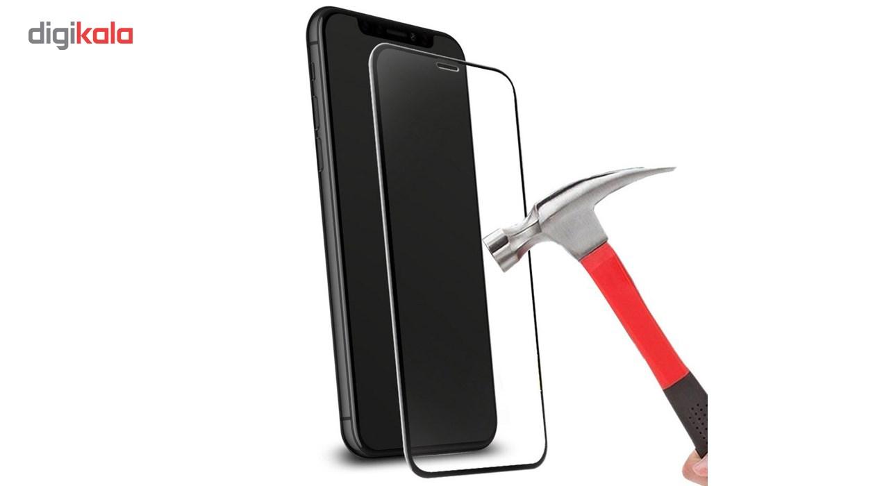 محافظ صفحه نمایش و لنز تمام چسب شیشه ای پیکسی مدل 5D  مناسب برای گوشی اپل آیفون X main 1 3