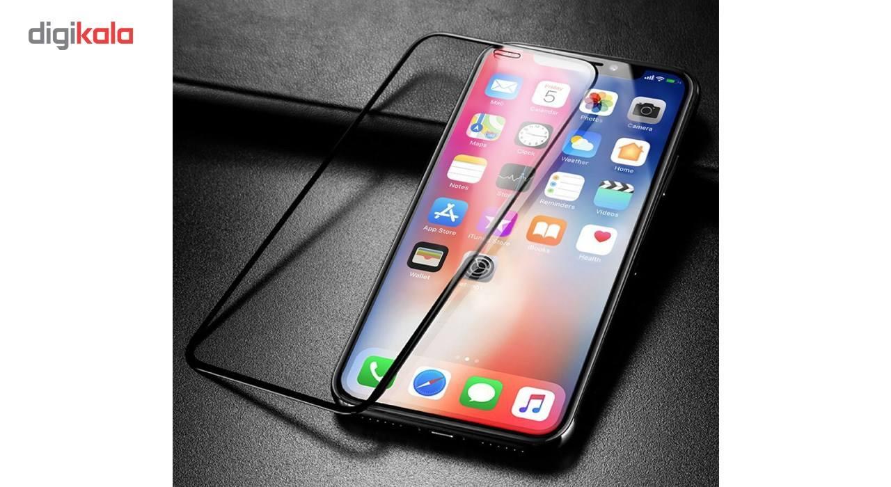 محافظ صفحه نمایش و لنز تمام چسب شیشه ای پیکسی مدل 5D  مناسب برای گوشی اپل آیفون X main 1 4