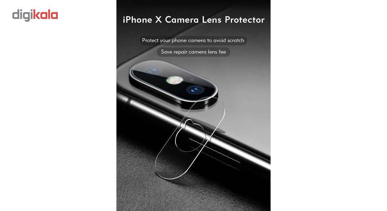 محافظ صفحه نمایش و لنز تمام چسب شیشه ای پیکسی مدل 5D  مناسب برای گوشی اپل آیفون X main 1 6