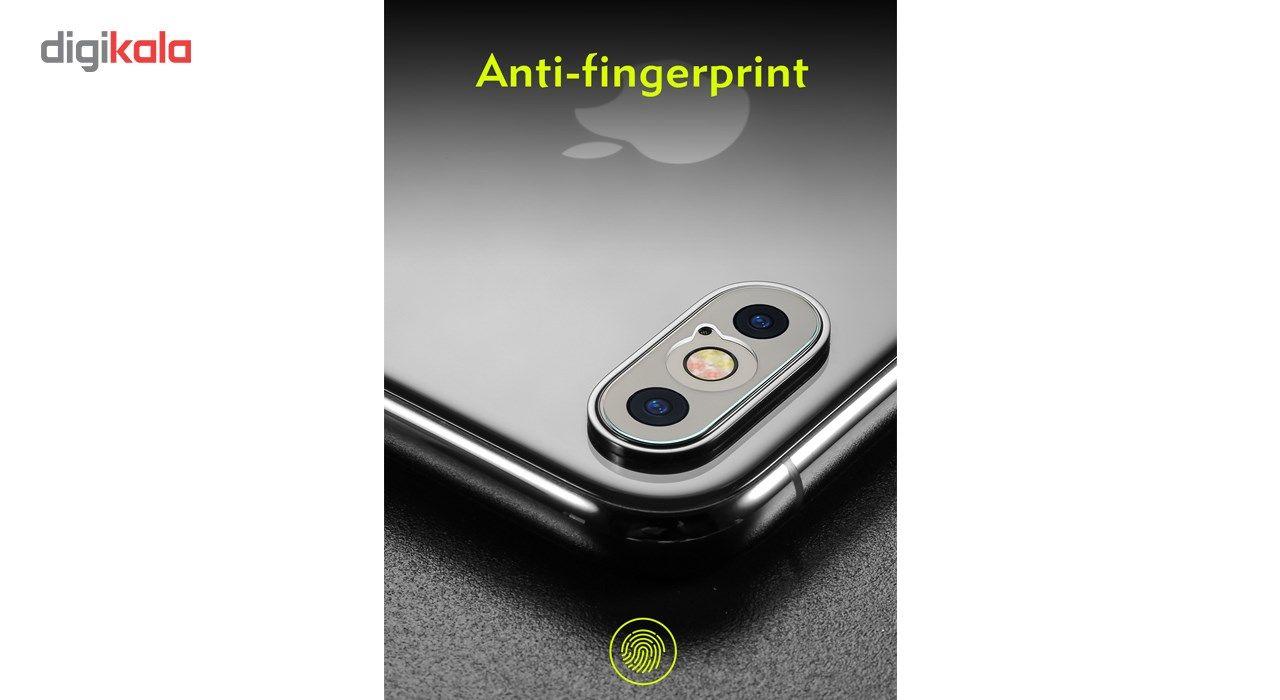 محافظ صفحه نمایش و لنز تمام چسب شیشه ای پیکسی مدل 5D  مناسب برای گوشی اپل آیفون X main 1 13