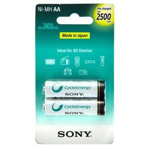 باتری قابل شارژ قلمی سونی مدل NH-AA-B2GN بستهی 2 عددی