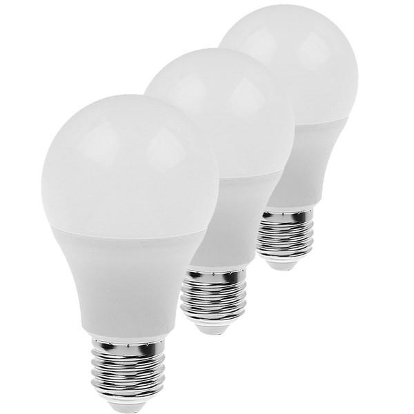 لامپ اس ام دی 9 وات ای دی سی پایه E27 بسته 3 عددی