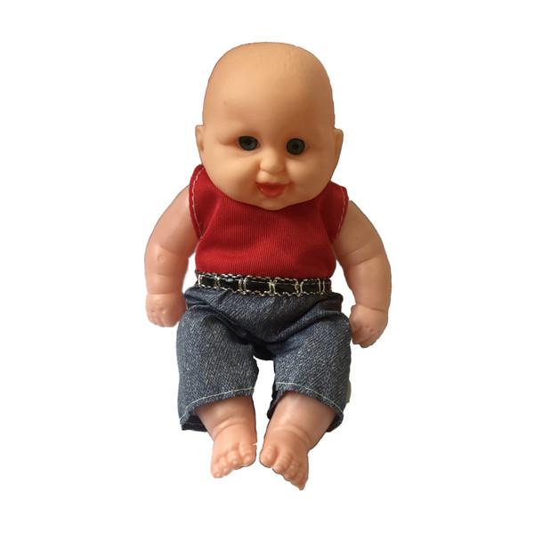 عروسک طرح نوزاد کد 0379 ارتفاع 22 سانتی متر