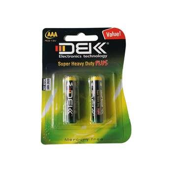 باتری نیم قلمی دی بی ک مدل Super Heavy Duty Plus بسته دو عددی