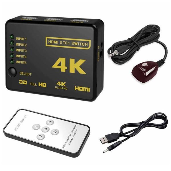 سوئیچ 1 به 5 HDMI دیتک مدل UH-501
