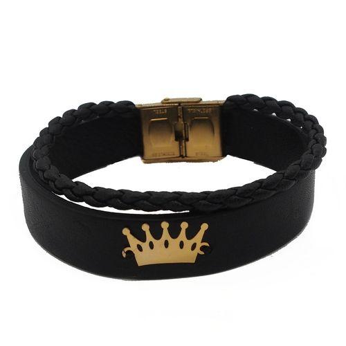 دستبند طلا 18 عیار زربان لیزر مدل 003