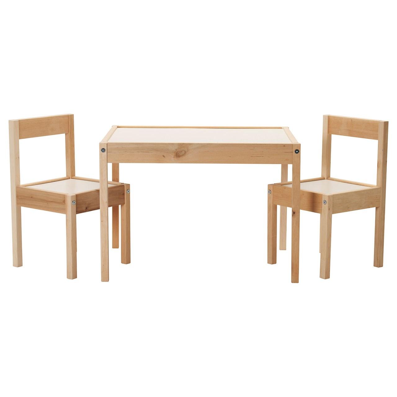 میز و صندلی ناهارخوری ایکیا مدل LATT