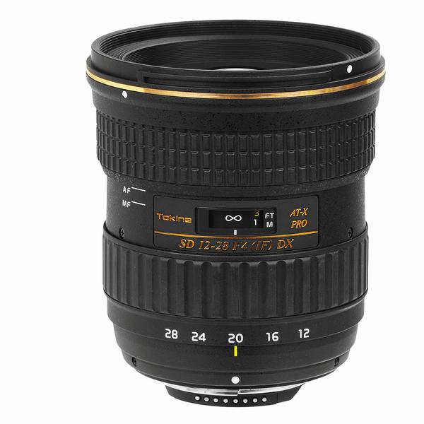 لنز توکینا مدل AT-X 12-28mm f4 Pro DX مناسب برای دوربینهای کانن