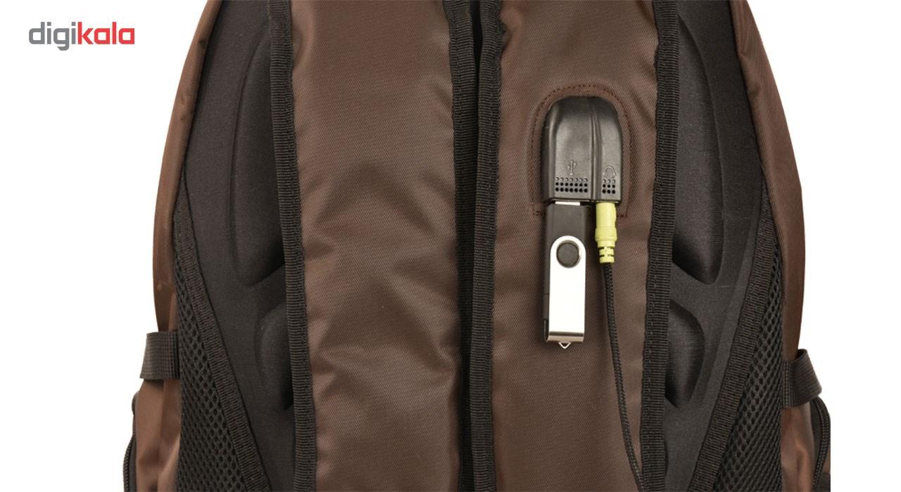 کوله پشتی لپ تاپ پارینه  مدل SP105-7 مناسب برای لپ تاپ 15 اینچی