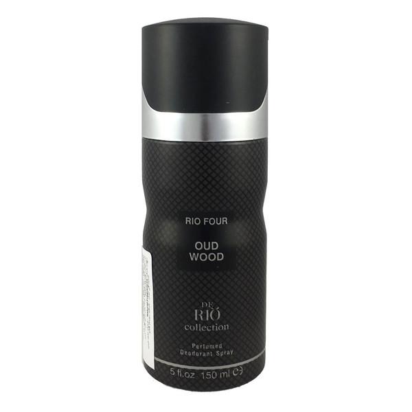 اسپری ضد تعریق مردانه ریو کالکشن مدلRio four Oud Wood حجم 150میلی لیتر