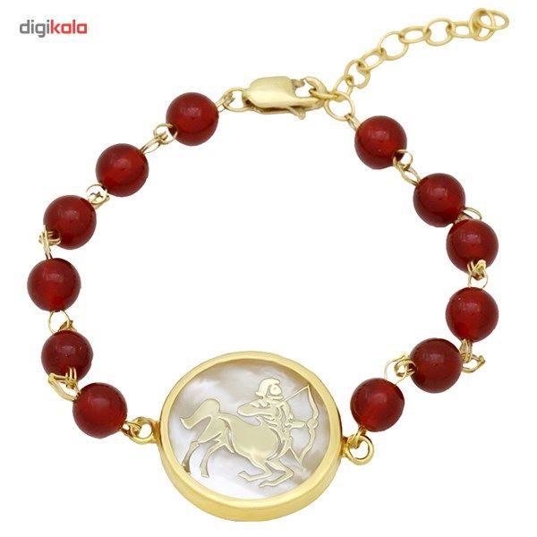 دستبند طلا 18 عیار ماهک مدل MB0129 - مایا ماهک -  - 2