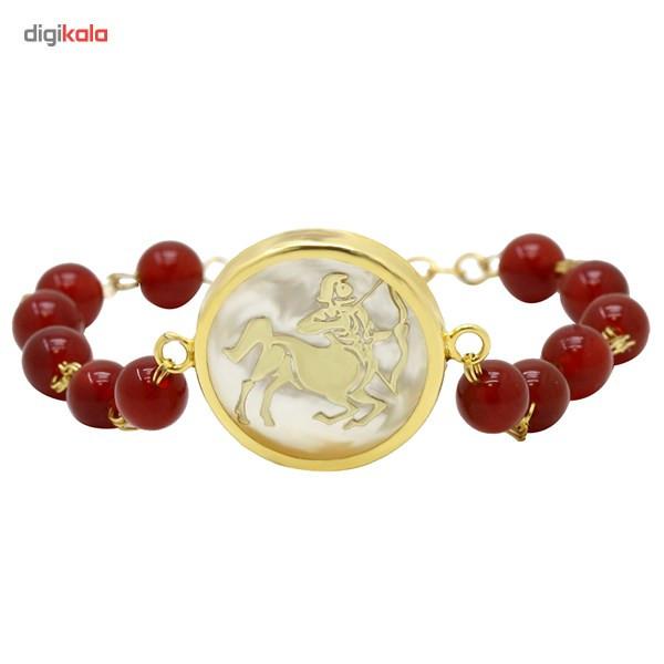 دستبند طلا 18 عیار ماهک مدل MB0129 - مایا ماهک