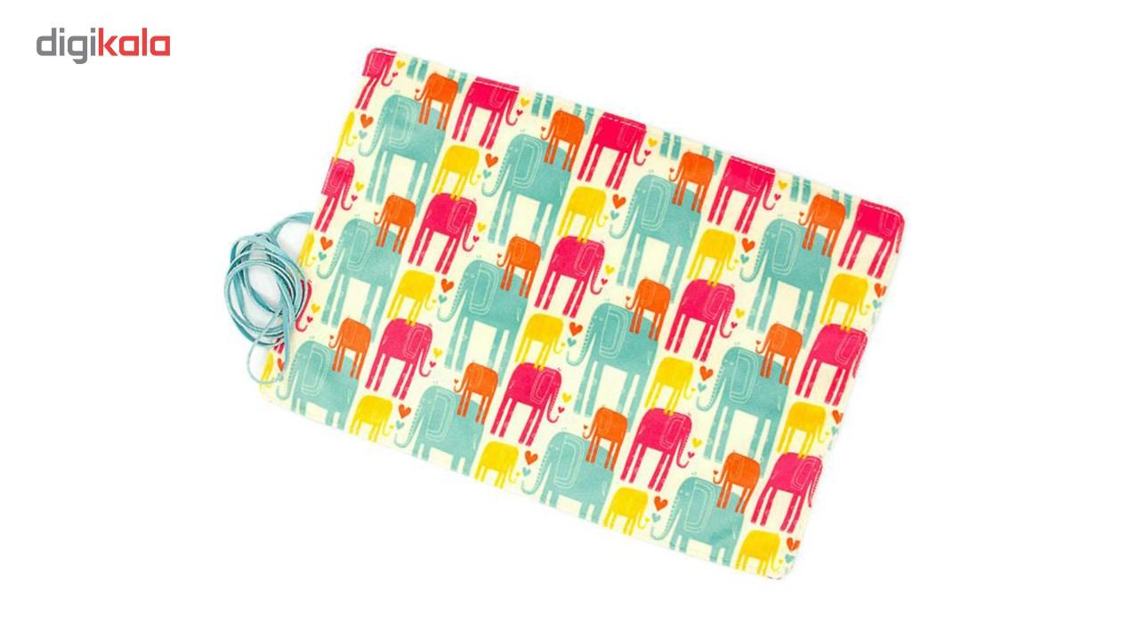 جامدادی رولی هیدورا طرح فیل های رنگی