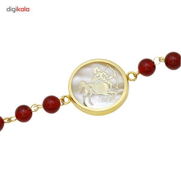دستبند طلا 18 عیار ماهک مدل MB0129 - مایا ماهک -  - 1