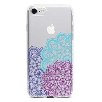 کاور  ژله ای مدل  Floral  مناسب برای گوشی موبایل آیفون 7 و 8