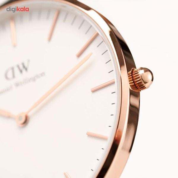 ساعت مچی عقربه ای مردانه دنیل ولینگتون مدل DW00100014              اصل