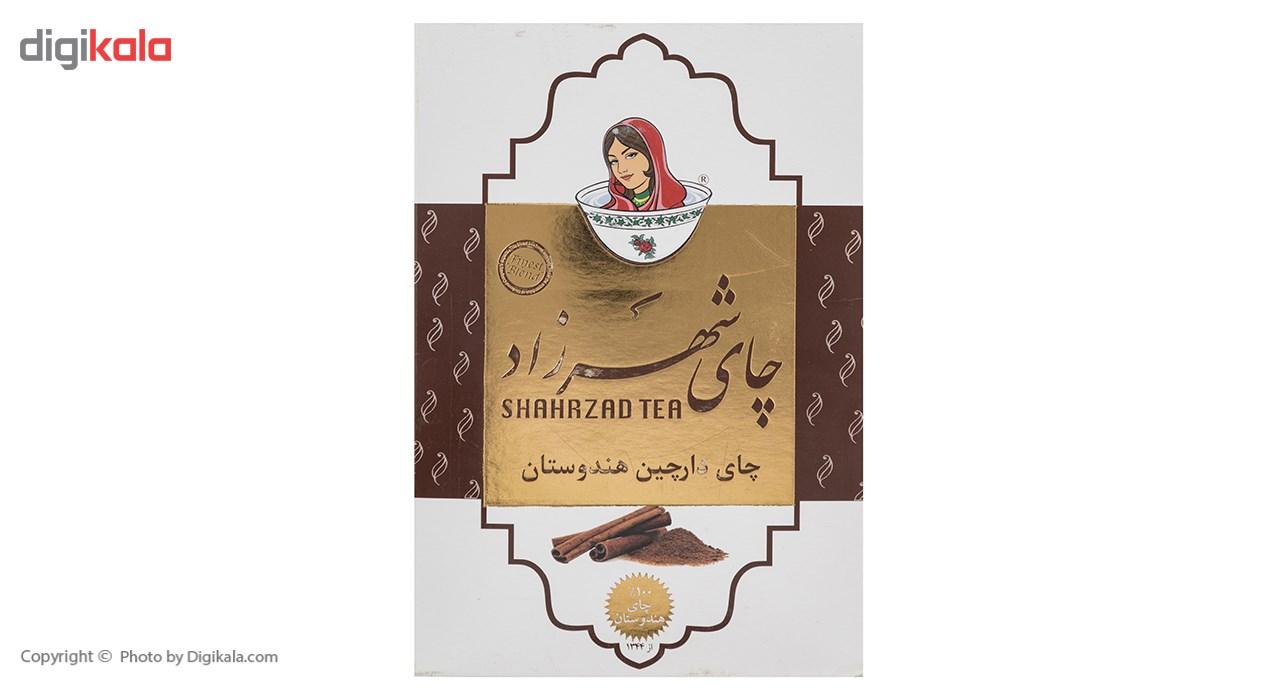 چای شهرزاد با طعم دارچین مقدار 500 گرم main 1 2