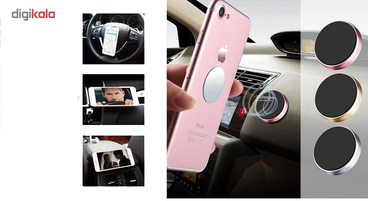پایه نگهدارنده گوشی موبایل earldom  مدل Universal Magnetic main 1 1