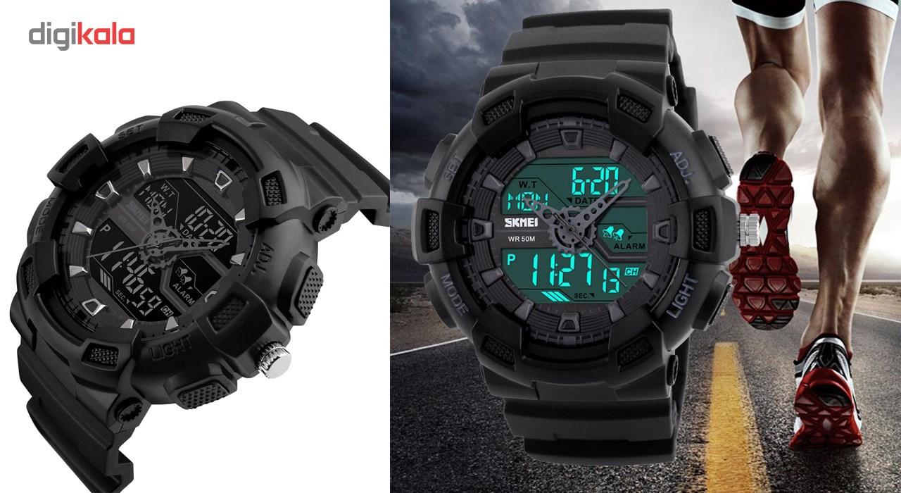 خرید ساعت مچی دیجیتالی  اسکمی مدل 1189s