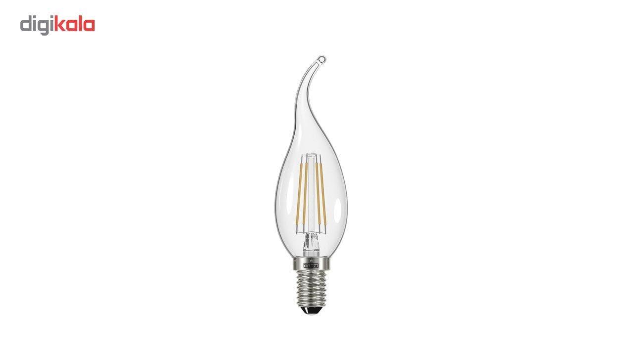 لامپ ال ای دی فیلامنتی 4 وات تی لایت کد 804 پایه E14  main 1 1