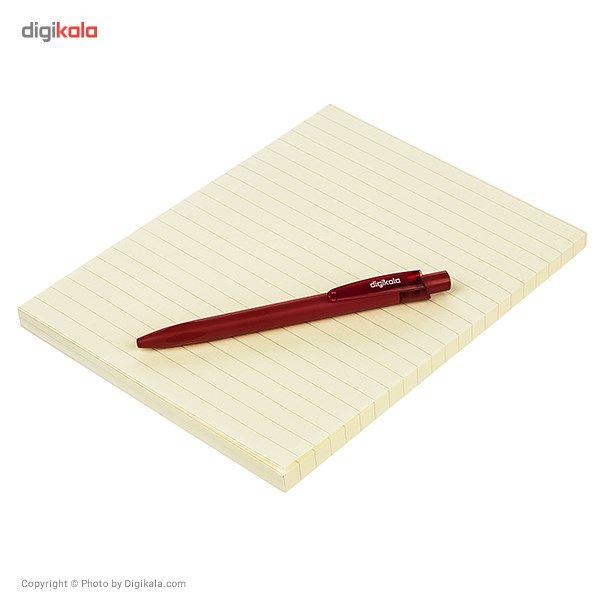 کاغذ یادداشت چسب دار کورس کد 46520 - بسته 100 عددی main 1 3