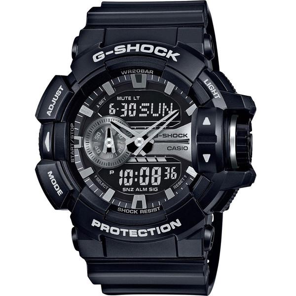 ساعت مچی عقربه ای مردانه کاسیو جی شاک مدل GA-400GB-1ADR