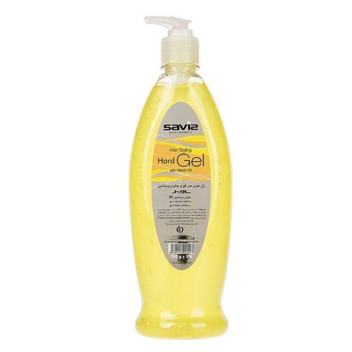 ژل موی سر ساویز مدل Hard yellow مقدار 750 گرم