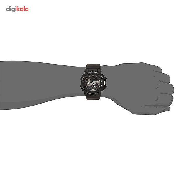 ساعت مچی عقربه ای مردانه کاسیو جی شاک مدل GA-400GB-1ADR -  - 2