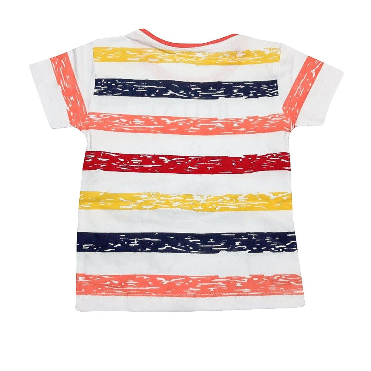 ست تی شرت و شلوارک پسرانه کد G -  - 3