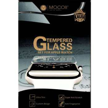 محافظ صفحه نمایش اپل واچ موکول مدل Tempered Glass 0.15mm سایز 42 میلی متر