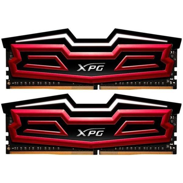 رم دسکتاپ DDR4 دو کاناله 3000 مگاهرتز CL16 ای دیتا مدل XPG Dazzle ظرفیت 16 گیگابایت