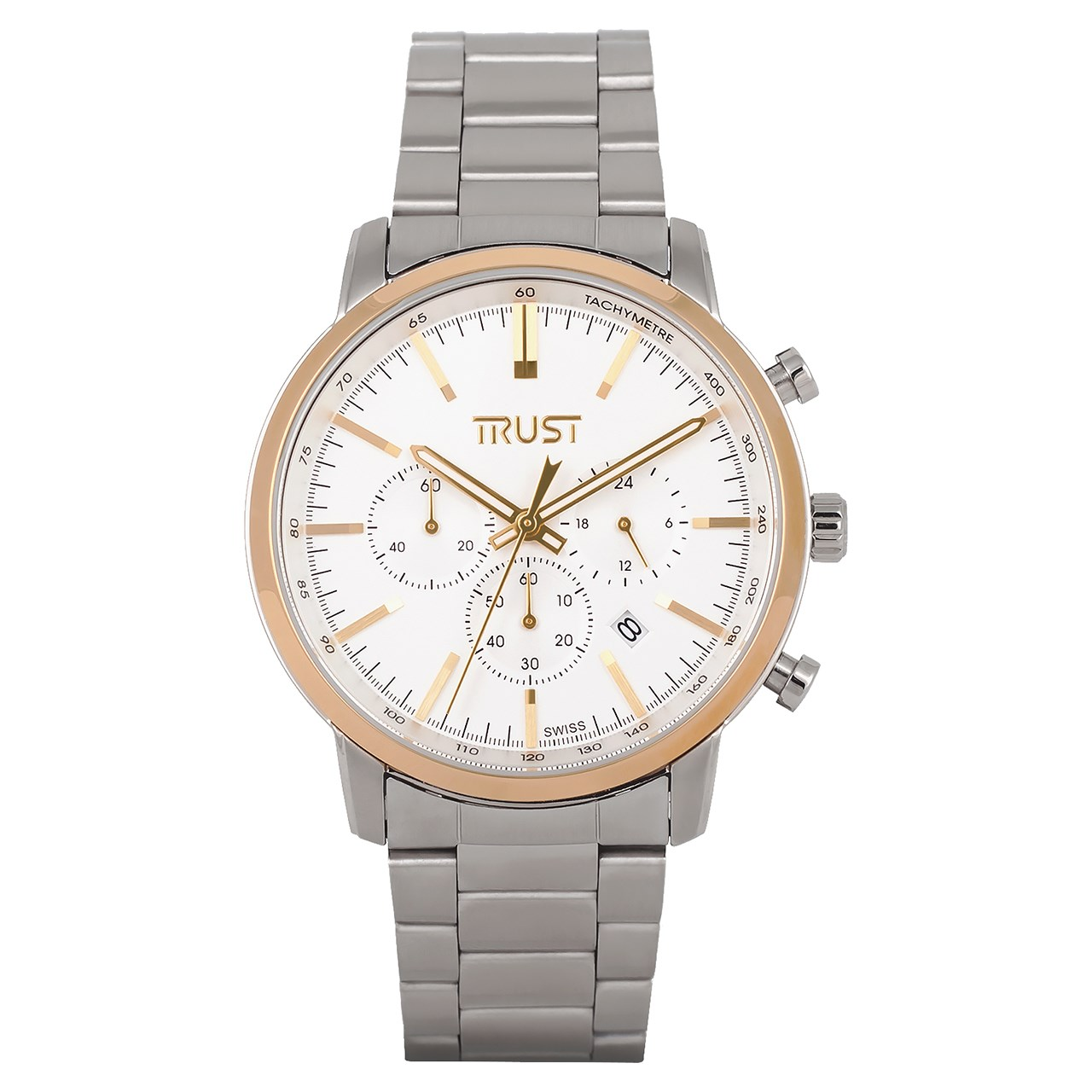 قیمت                      ساعت مچی عقربه ای مردانه تراست مدل G458MRK