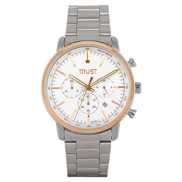 ساعت مچی عقربه ای مردانه تراست مدل G458MRK