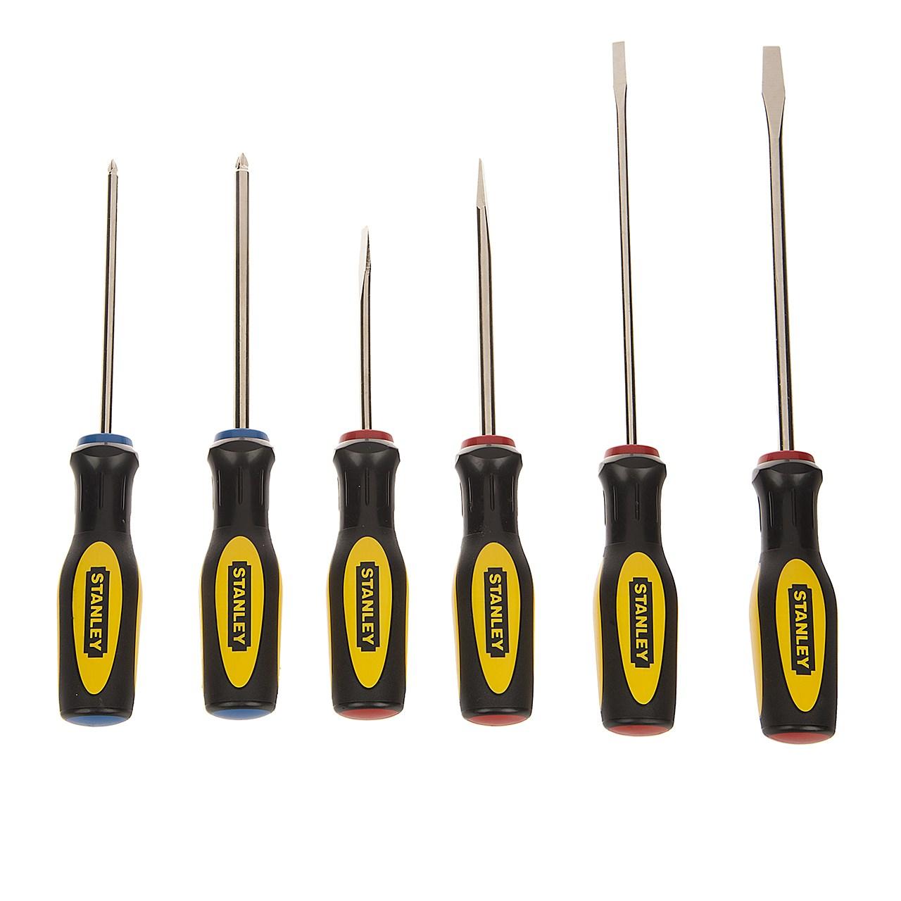 مجموعه 6 عددی پیچ گوشتی استنلی مدل 060-60