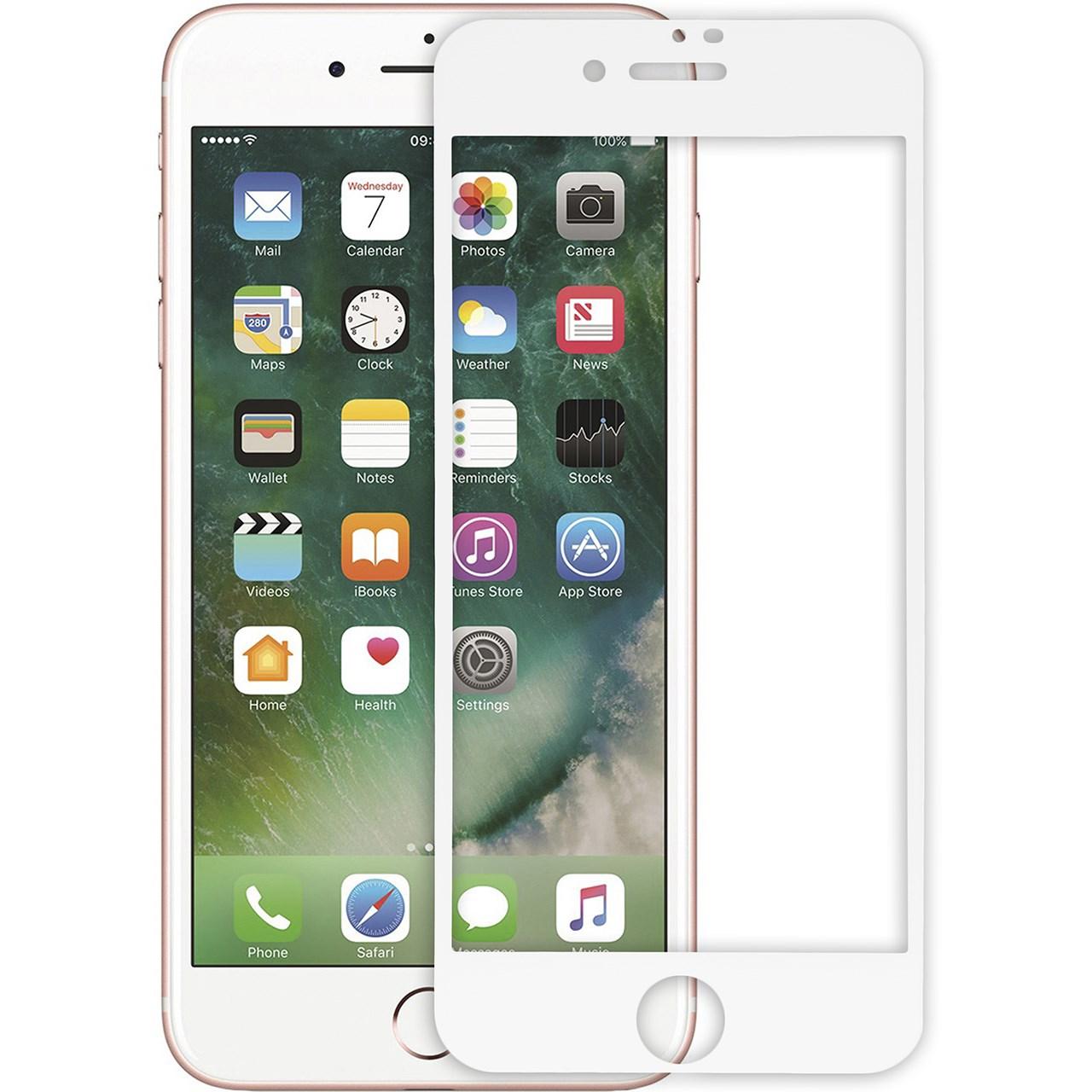 محافظ صفحه نمایش شیشه ای ریمکس مدل Tempered مناسب برای گوشی موبایل  اپل iPhone 7/8