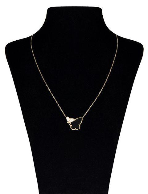 گردنبند طلا 18 عیار ماهک مدل MM0377 -  - 1