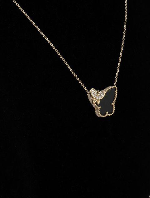 گردنبند طلا 18 عیار ماهک مدل MM0377 -  - 3