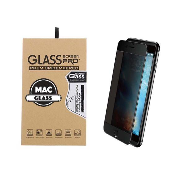 محافظ صفحه نمایش شیشه ای مک گلس مدل 3D Privacy مناسب برای گوشی آیفون 7 و 8 پلاس