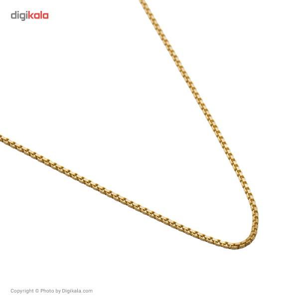 زنجیر طلا 18 عیار ماهک مدل MM0351