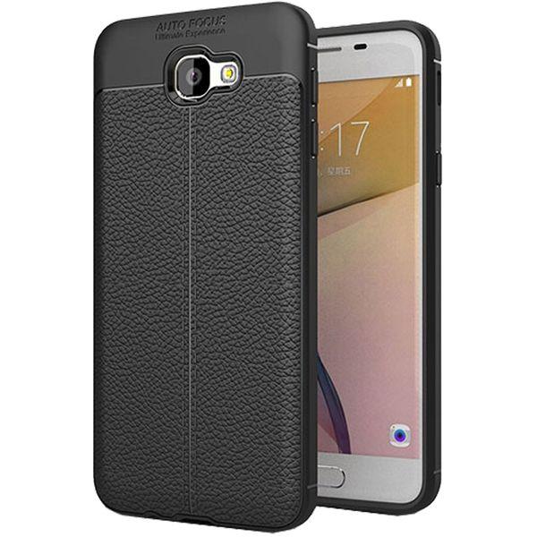کاور ژله ای طرح چرم مناسب برای گوشی موبایل سامسونگ J5 Prime