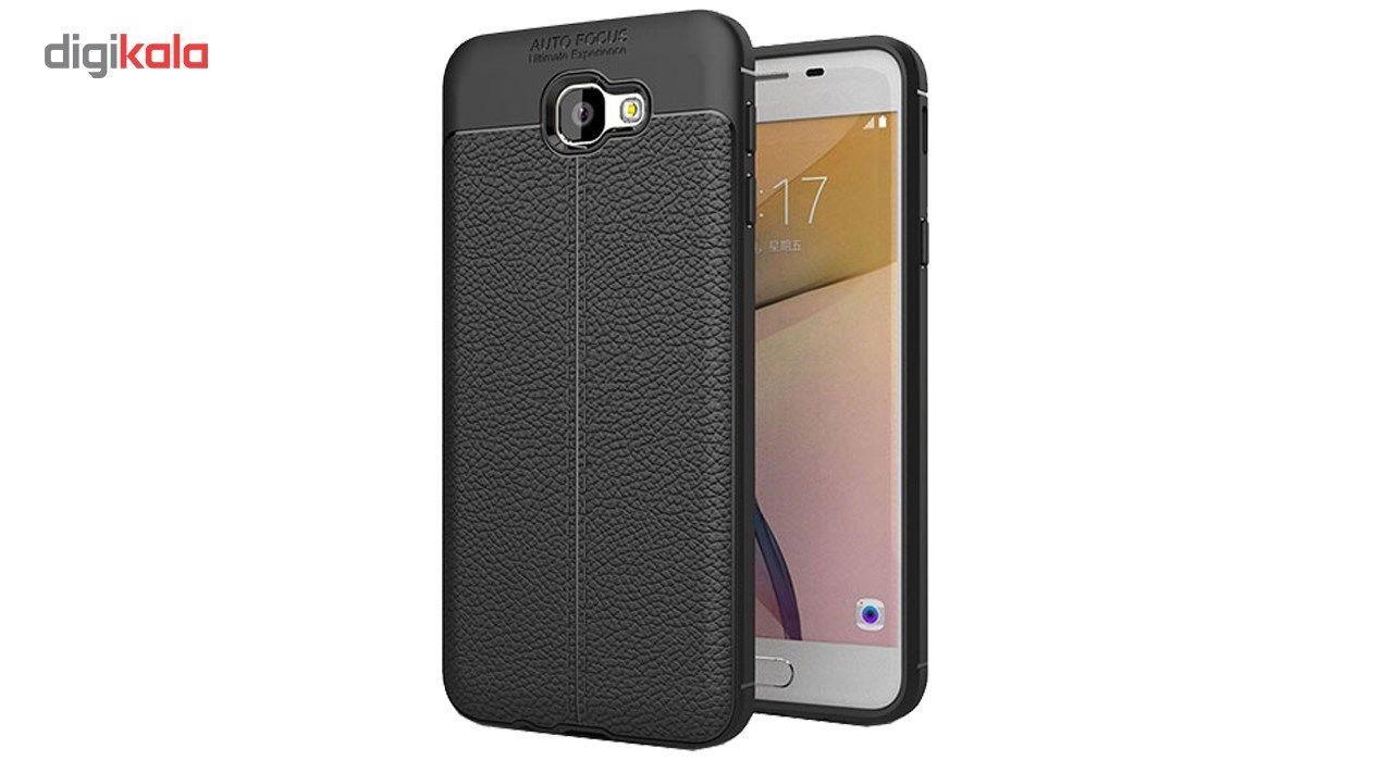 کاور ژله ای طرح چرم مناسب برای گوشی موبایل سامسونگ J5 Prime main 1 1