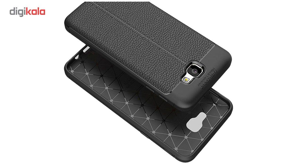 کاور ژله ای طرح چرم مناسب برای گوشی موبایل سامسونگ J5 Prime main 1 2