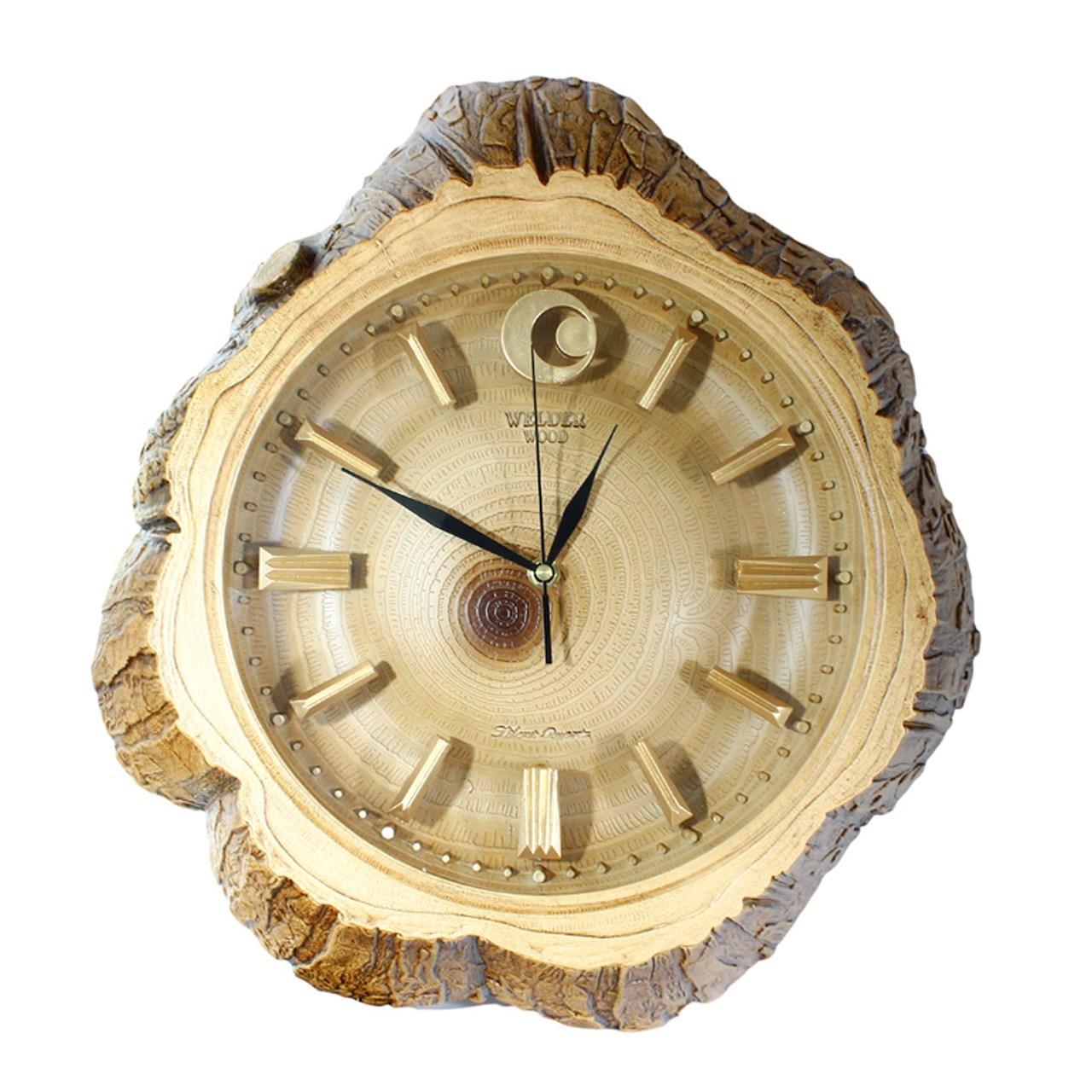 ساعت دیواری ولدر مدل Wood-Line