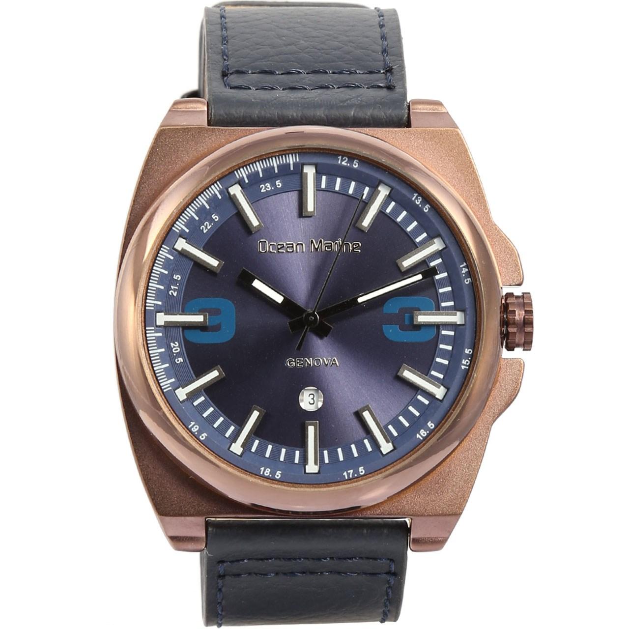 ساعت مچی عقربه ای مردانه اوشن مارین مدل OM-8010-5