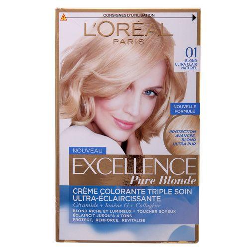 کیت رنگ موی لورآل سری Excellence شماره 01