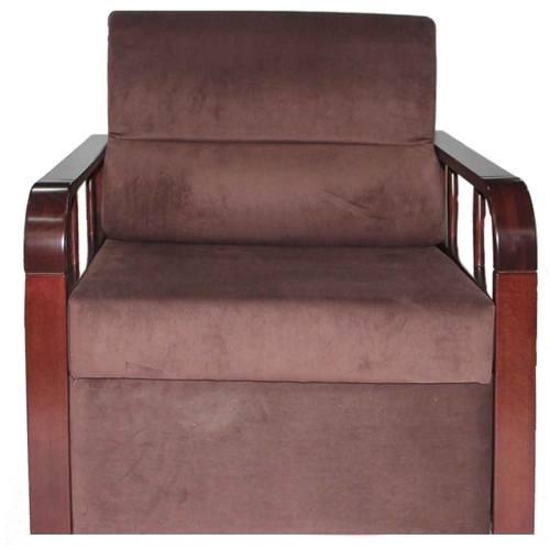 صندلی اداری پارچه ای راد سیستم مدل W705 قهوه ای