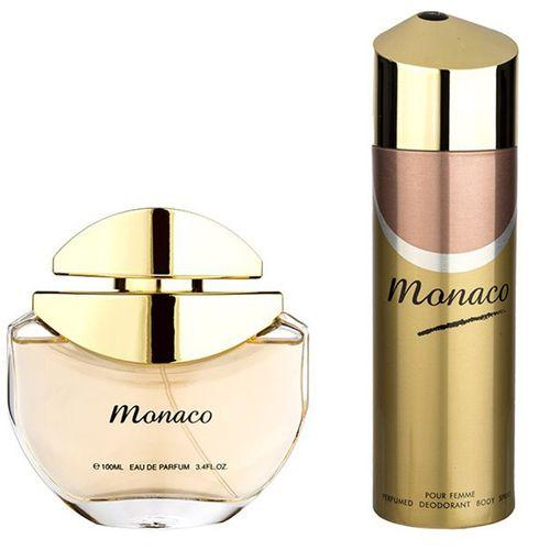 ست ادو پرفیوم زنانه امپر پرایو مدل Monaco حجم 100 میلی لیتر