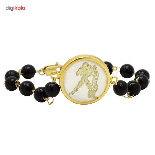 دستبند طلا 18 عیار ماهک مدل MB0118 - مایا ماهک -  - 1