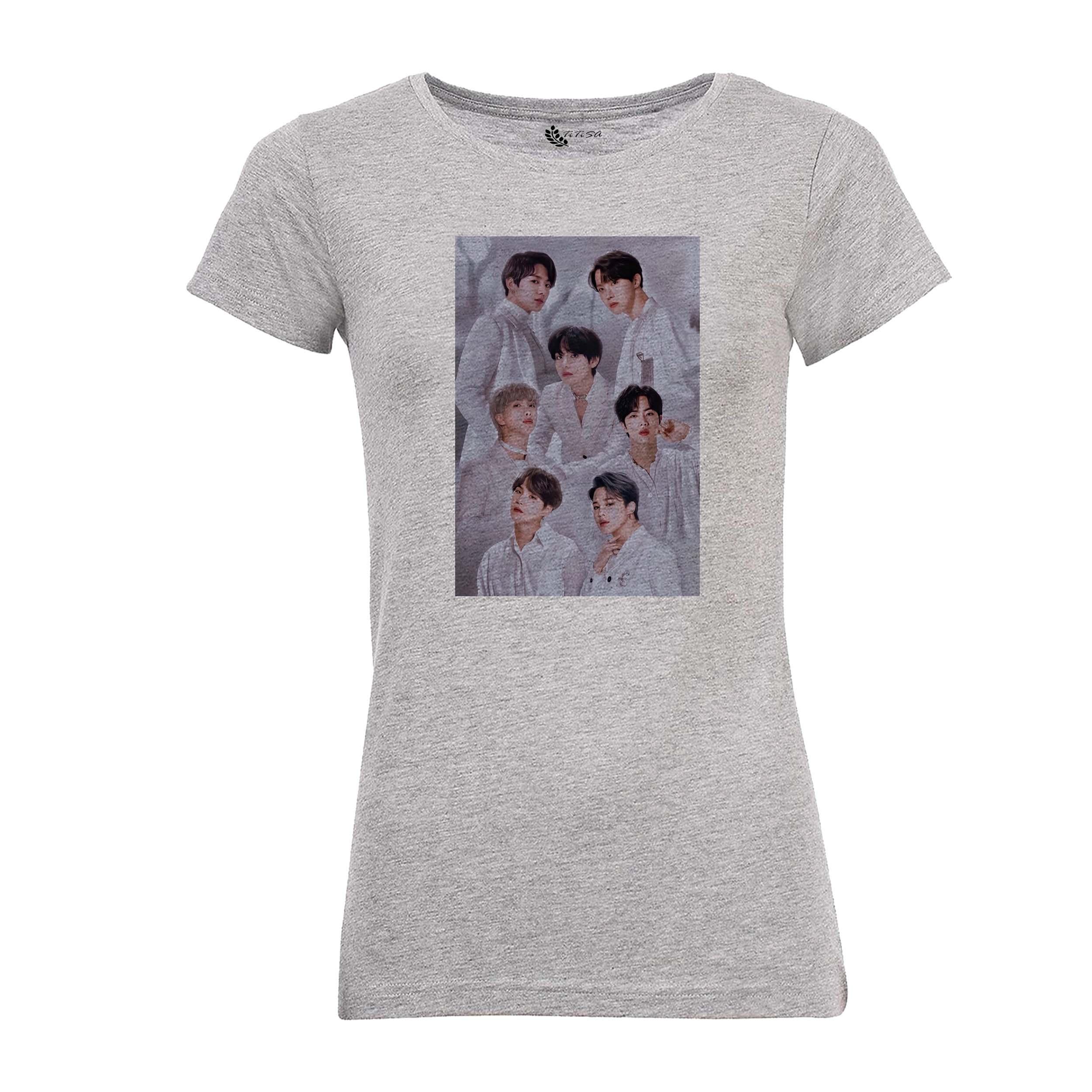 تی شرت زنانه مدل BTS